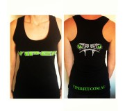 Ladies Singlets Black